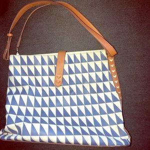 Stella & Dot Geometric Crossbody Bag